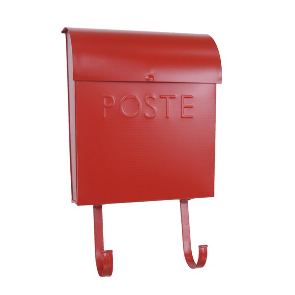 Euro French Poste Wall Mounted Mailbox by NACH