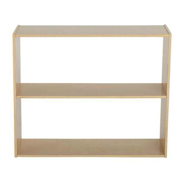 Birch Streamline Double Sided 2 Compartment Shelving Unit by ECR4kids