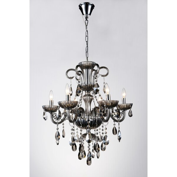 Bokard Candle Style Empire Chandelier By Rosdorf Park