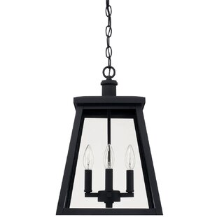 Affordable Price Upsala 4-Light Outdoor Hanging Lantern By Gracie Oaks