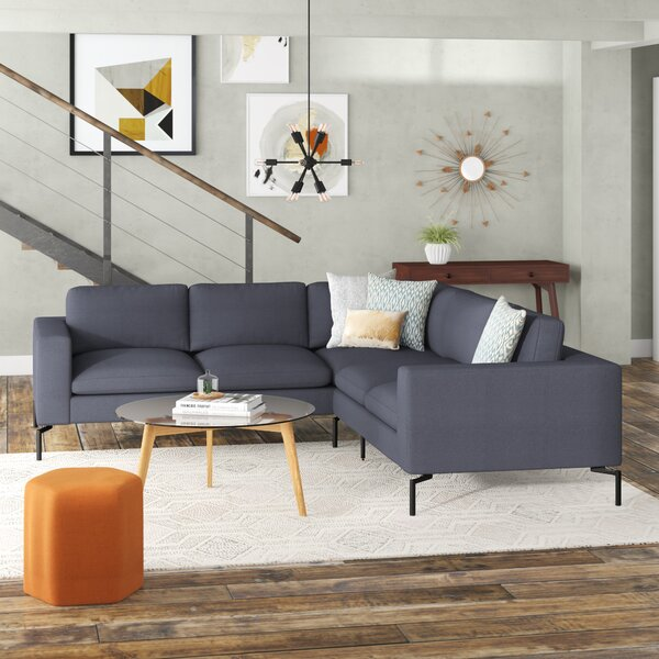 The New Standard Sectional Sofa - Small by Blu Dot