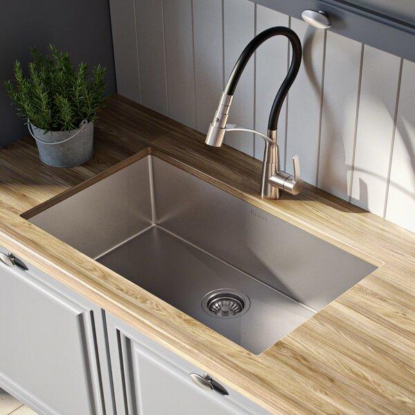 """Standart PRO™ 26"""" x 18 Undermount Kitchen Sink by Kraus"""