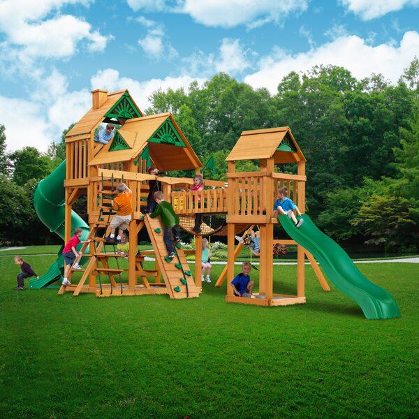 Treasure Trove Swing Set by Gorilla Playsets
