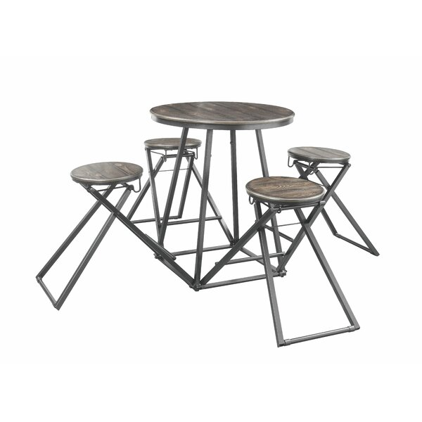 Holguin 5 Piece Pub Table Set by Williston Forge