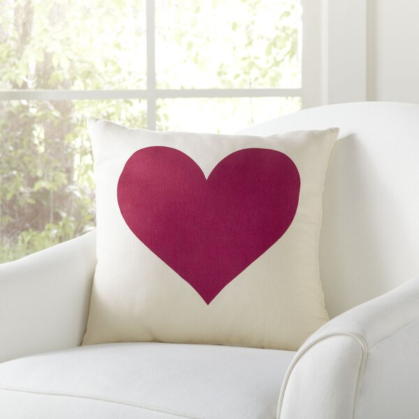 Heart Pillow Cover by Birch Lane™