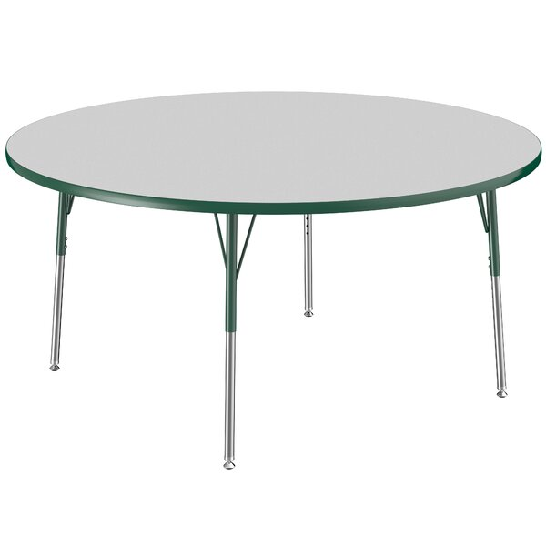 Thermo-Fused 60 Circular Activity Table by ECR4kids
