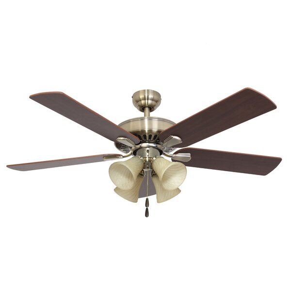 52 Bartlett 4-Light 5-Blade Ceiling Fan by Calcutta