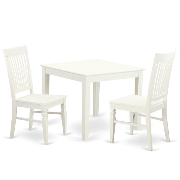 Reviews Cobleskill 3 Piece Dining Set By Alcott Hill Purchase