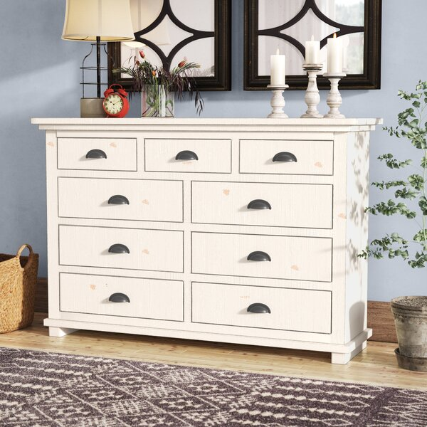 Castagnier 9 Drawer Double Dresser by Lark Manor
