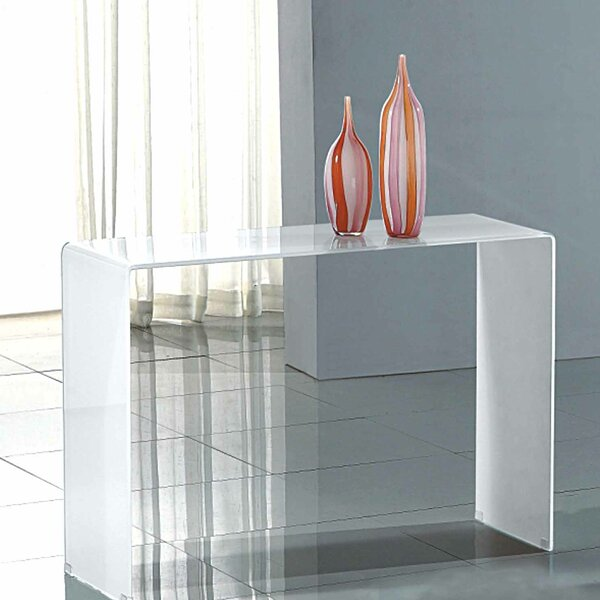 Wade Logan White Console Tables