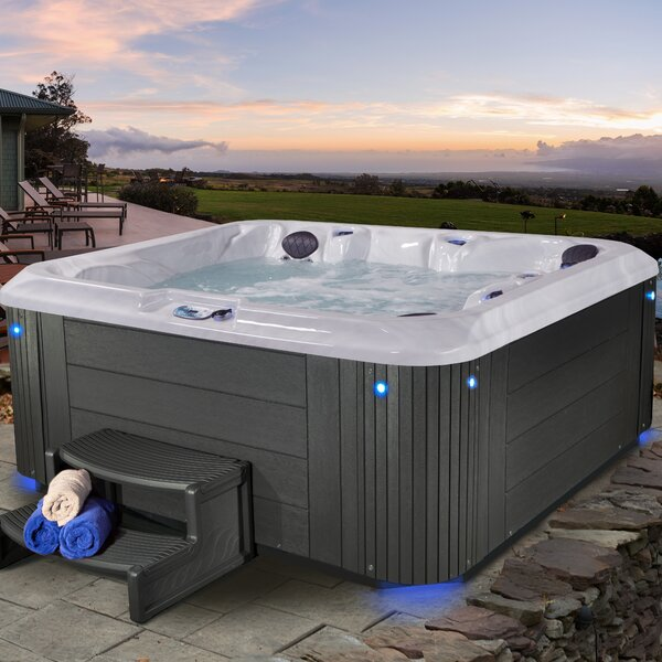 Riviera 5-Person 100-Jet Spa by Essential Spas