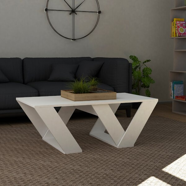 Simonds Coffee Table with Tray Top by Ebern Designs Ebern Designs