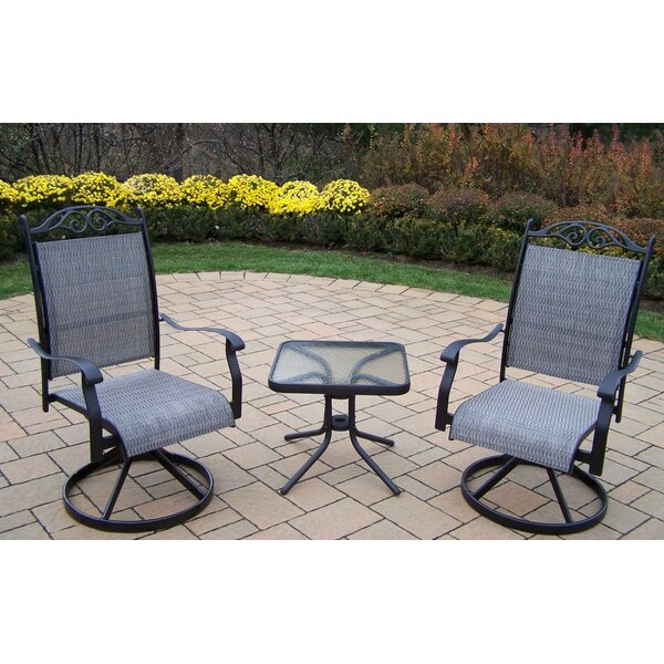 Basile 3 Piece Conversation Set by August Grove August Grove