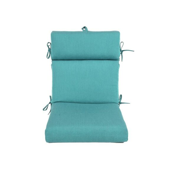 Premium Patio Indoor/Outdoor Dining Chair Cushion by Charlton Home