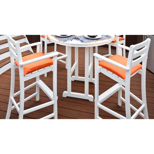 Monterey Bay 30.13 Patio Bar Stool (Set of 2) by Trex Outdoor| @ $594.99