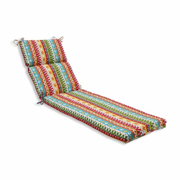 Hardison Indoor/Outdoor Chaise Lounge Cushion