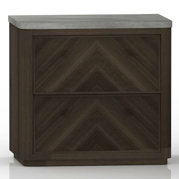Bellinger 2 Drawers Nightstand by Foundry Select