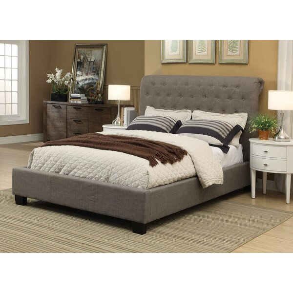 Beverly Queen Upholstered Sleigh Bed by Modus Furniture