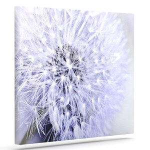 'Lavender Wish' Photographic Print on Canvas by East Urban Home