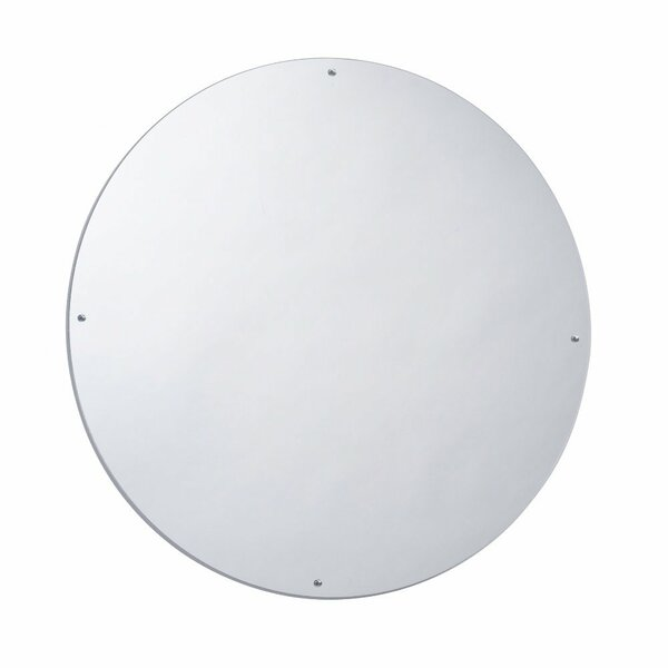 23 H x 23 W Circle Mirror by Whitney Brothers