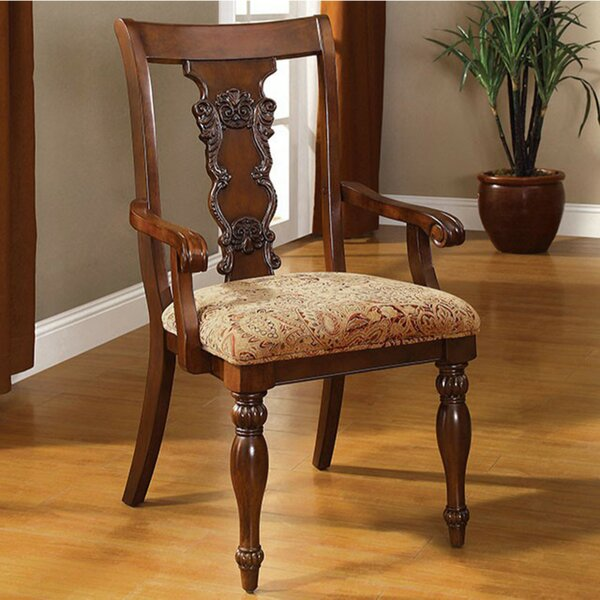 Batesville Traditional Batesville Solid Wood Dining Chair (Set of 2) by Astoria Grand