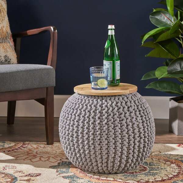 Nance Pouf By Gracie Oaks Coupon