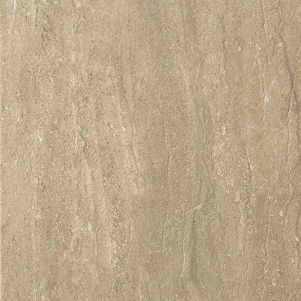 Travertini 16.75 x 16.75 Porcelain Field Tile in Matte Walnut by Samson