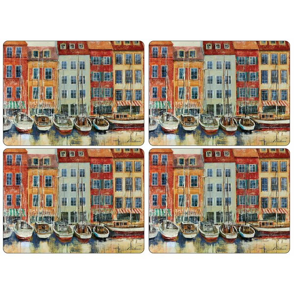 Boat Scene 16 Placemat (Set of 4) by Pimpernel