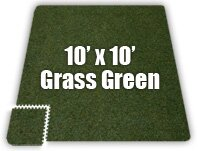 SoftCarpets Set in Grass Green by Alessco Inc.