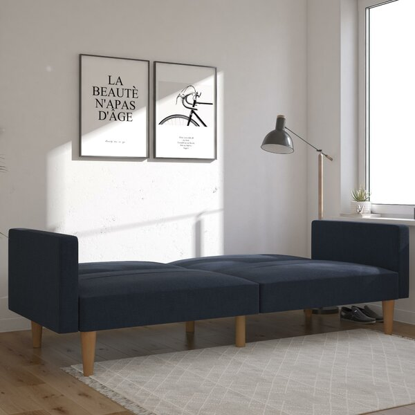 Nolting Channel Tufted Twin Or Smaller 80.5'' Tight Back Convertible Sofa By Mercury Row