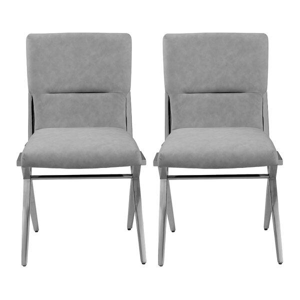 Phyllida Upholstered Dining Chair (Set of 2) by Orren Ellis Orren Ellis