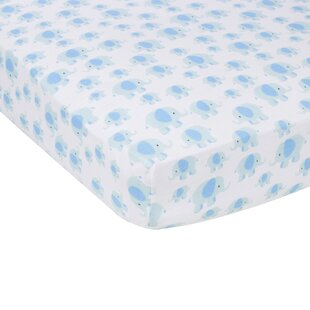 Deals Elephants Flat Crib Sheet By Miracle Blanket