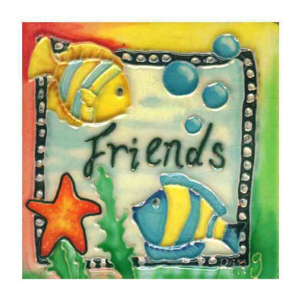 Friends Tile Wall Decor by Continental Art Center