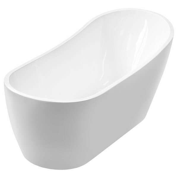 66 x 29 Freestanding Soaking Bathtub by LessCare