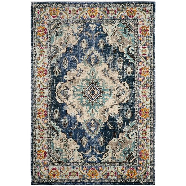 - Mistana Newburyport Navy/Light Blue Area Rug & Reviews Wayfair