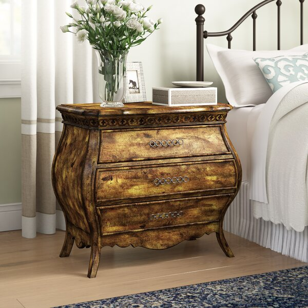 Sanctuary 3 Drawer Bachelors Chest by Hooker Furniture