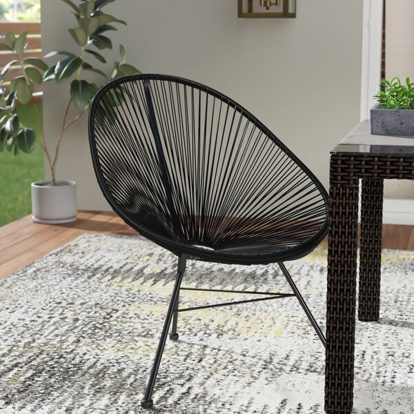 Degroot Stacking Patio Dining Chair by Mercury Row