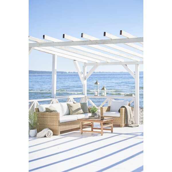 Sixty 2 Piece Sunbrella Sofa Seating Group with Cushions by Sika Design