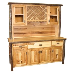 Hickory China Cabinet by Fireside Lodge