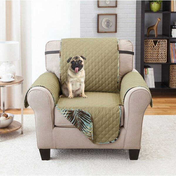Printed T-Cushion Armchair Slipcover by Bay Isle Home