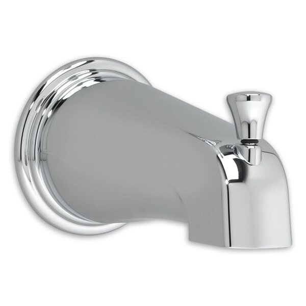 Portsmouth Single Handle Wall Mounted Tub Spout With Handshower By American Standard
