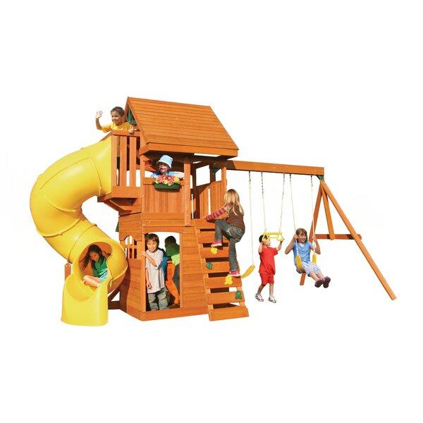 Grandview Deluxe Wooden Swing Set by KidKraft