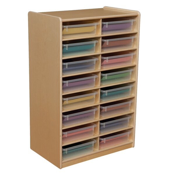 16 Compartment Cubby by Wood Designs