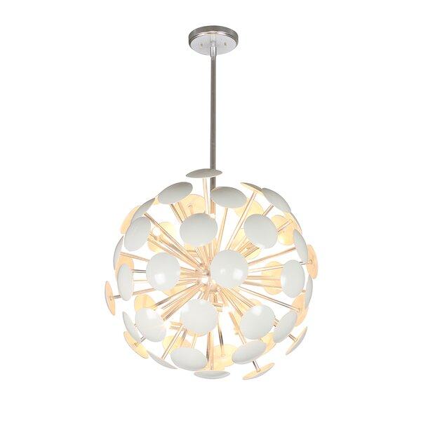 Nannette 10-Light Sputnik Sphere Chandelier By Everly Quinn
