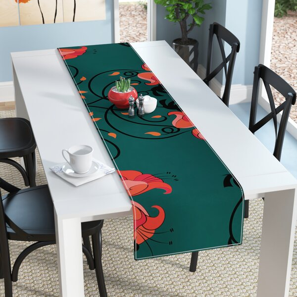 Billington Hummingbird Table Runner by East Urban Home