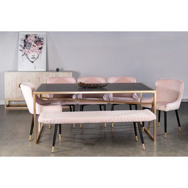 Billie 5 Piece Dining Set by Willa Arlo Interiors Willa Arlo Interiors