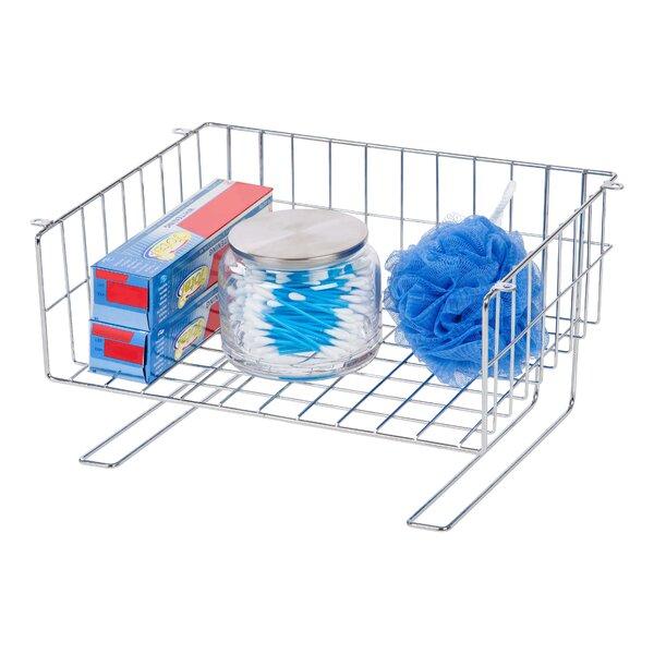 Under Cabinet Mountable Storage Wire Basket by IRIS USA, Inc.