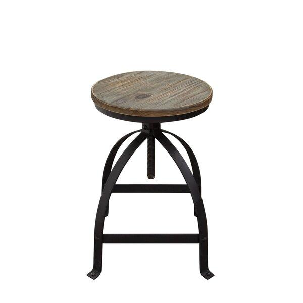 Davis Adjustable Height Bar Stool (Set of 2) by Diamond Sofa