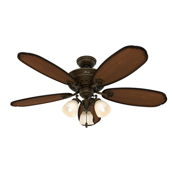 54 Crown Park 5-Blade Ceiling Fan by Hunter Fan