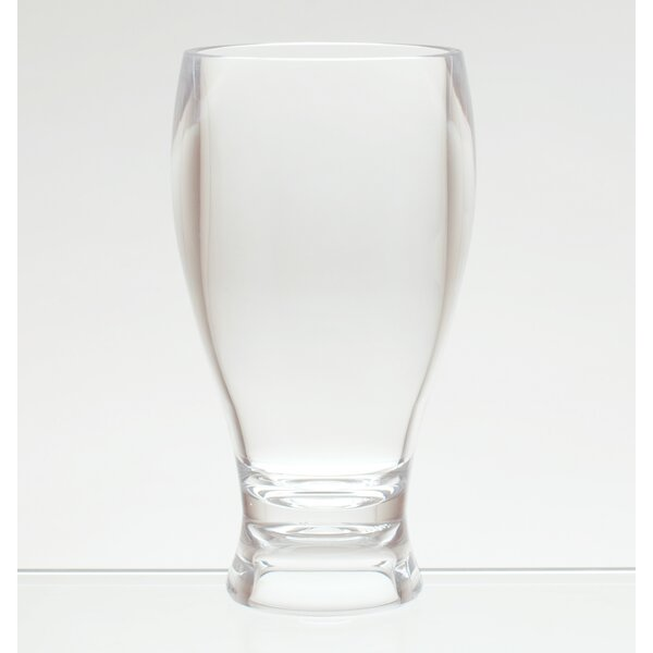 Thames Wheat Beer Style 14 oz. Plastic Pilsner Glass (Set of 6) by Red Barrel Studio